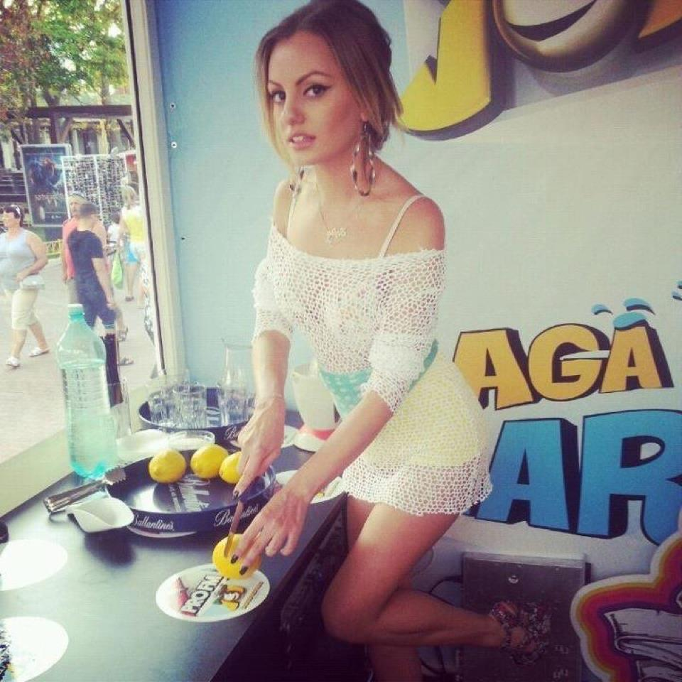 Young Alexandra Stan naked (82 photo), Cleavage