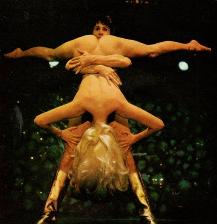 Circus Act Nude Flexible Pics