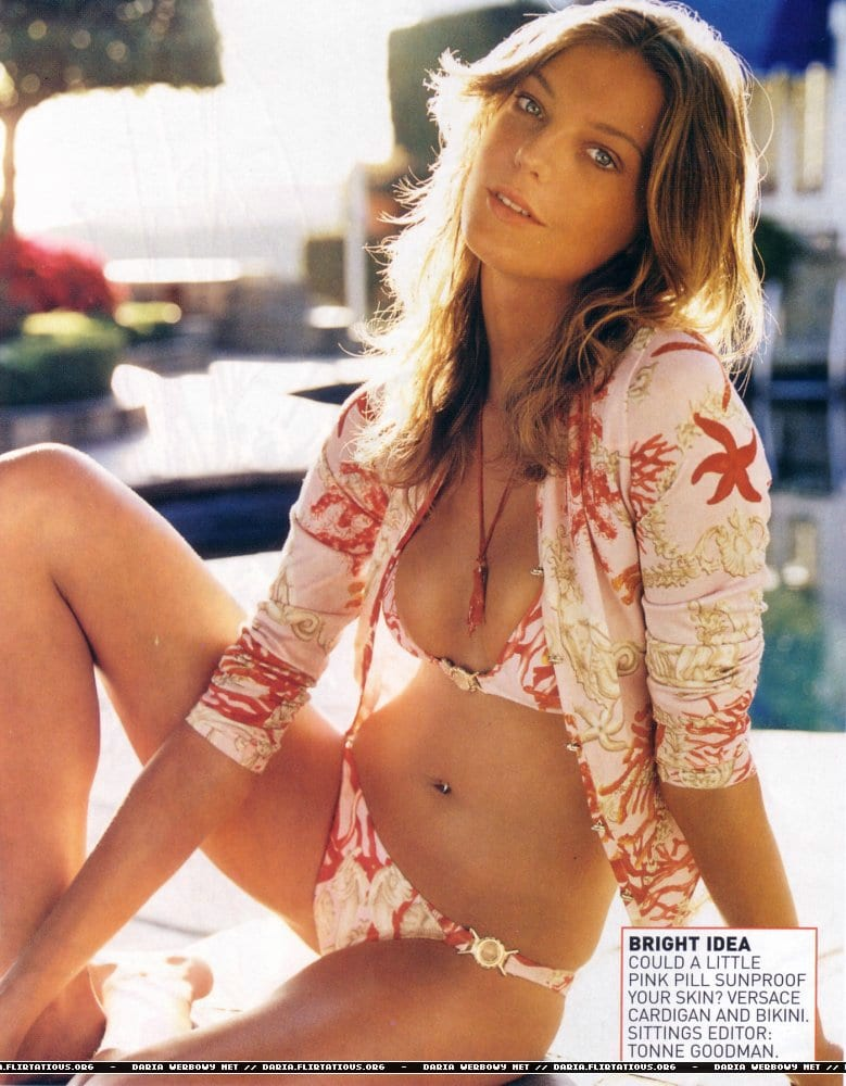 Apologise, daria werbowy bikini much regret