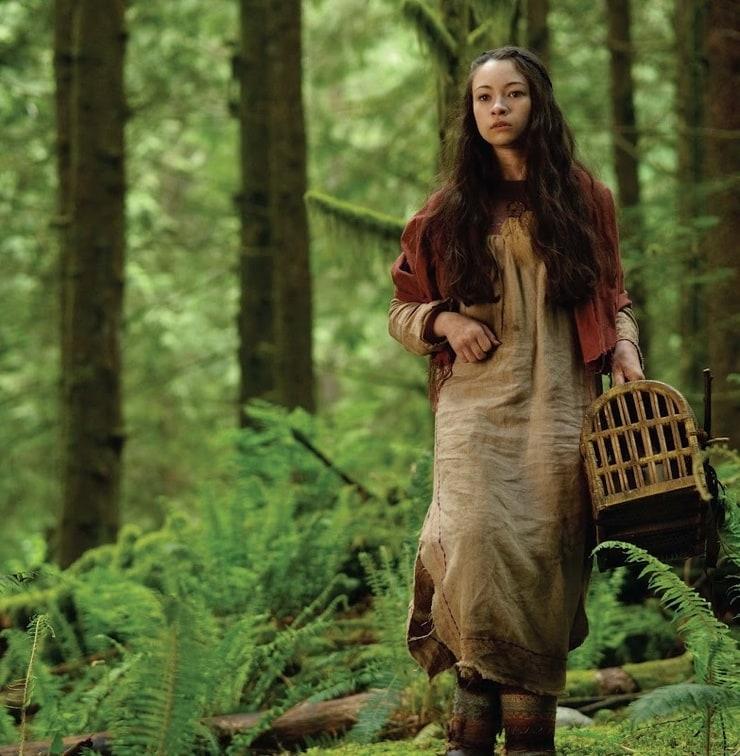 Chloe Moretz & Jodelle Ferland for The Hunger Games