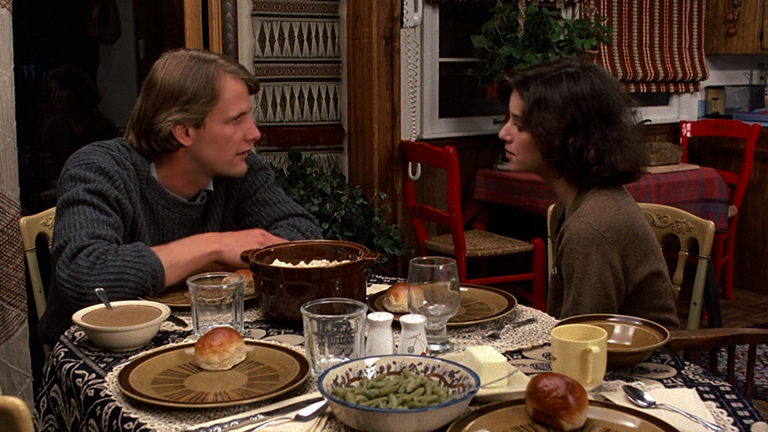 Jeff Daniels and Debra Winger