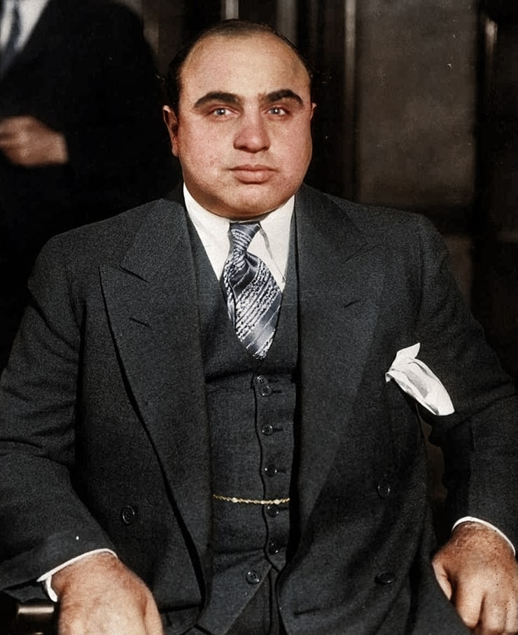 a biography of al capone one of the most known mobsters in the united states