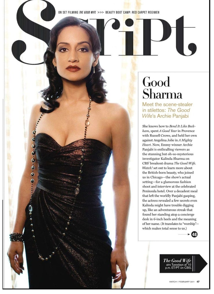 from Kylan hot pictures of archie panjabi