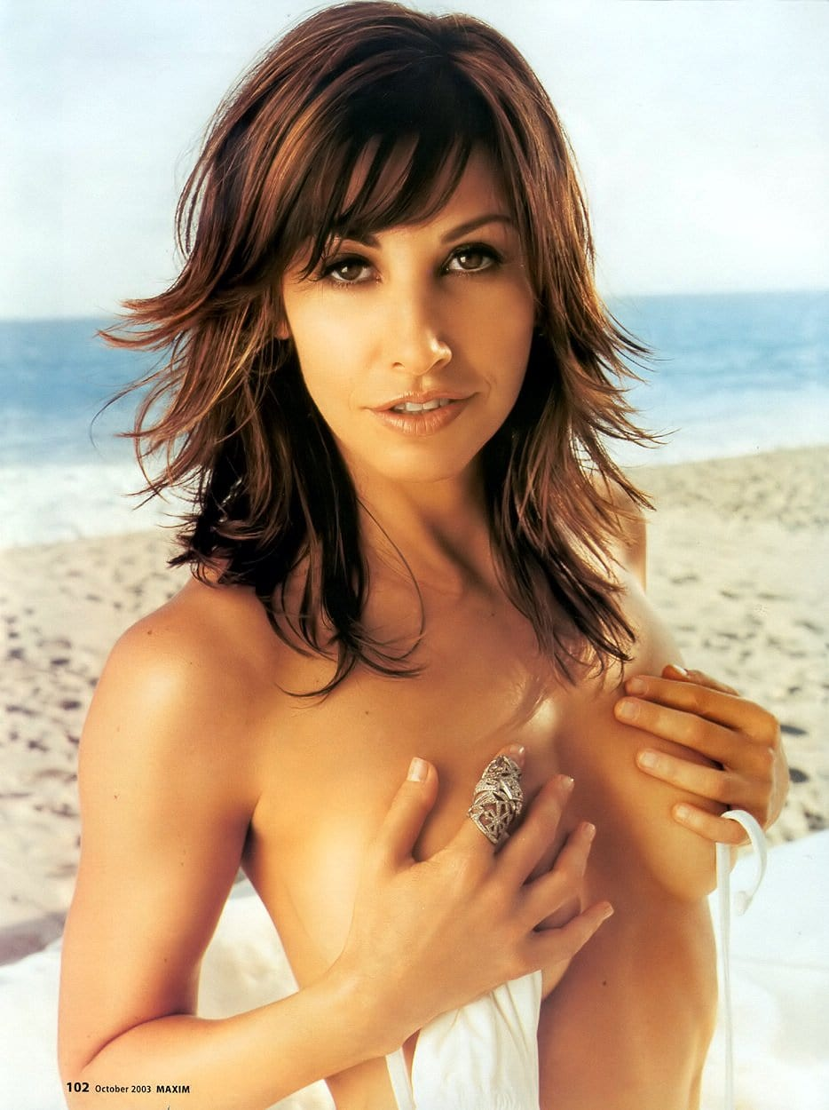 gina gershon fight