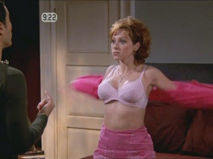 Leigh Allyn Baker In Bra on Will & Grace Disney Mom
