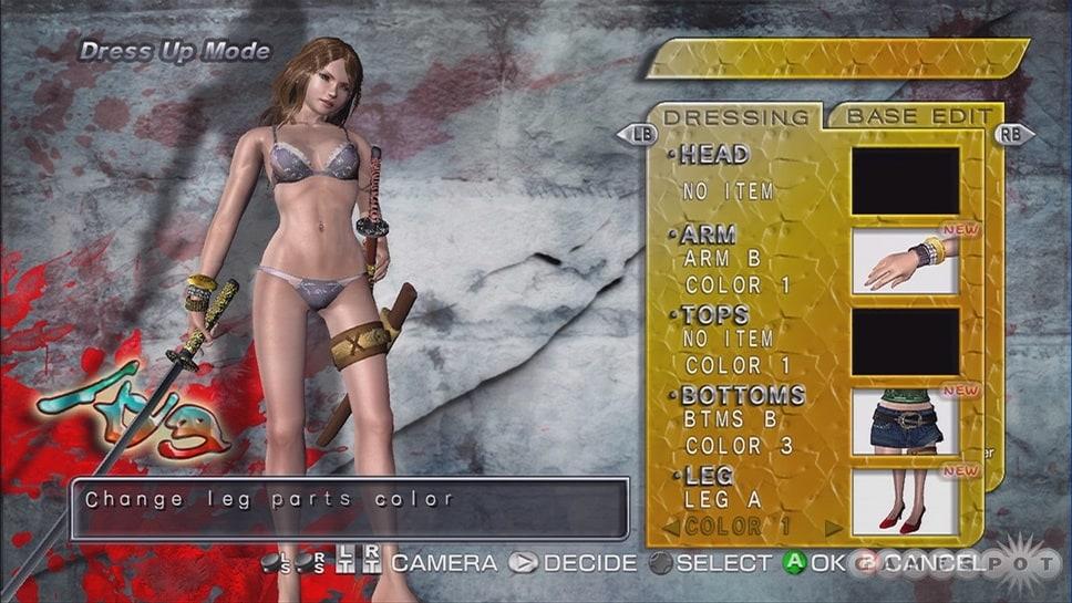 Samurai screenshots bikini onechanbara squad have