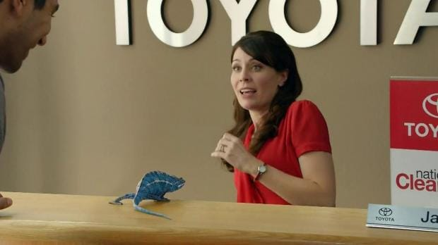 Jan Toyota Commercial Actress