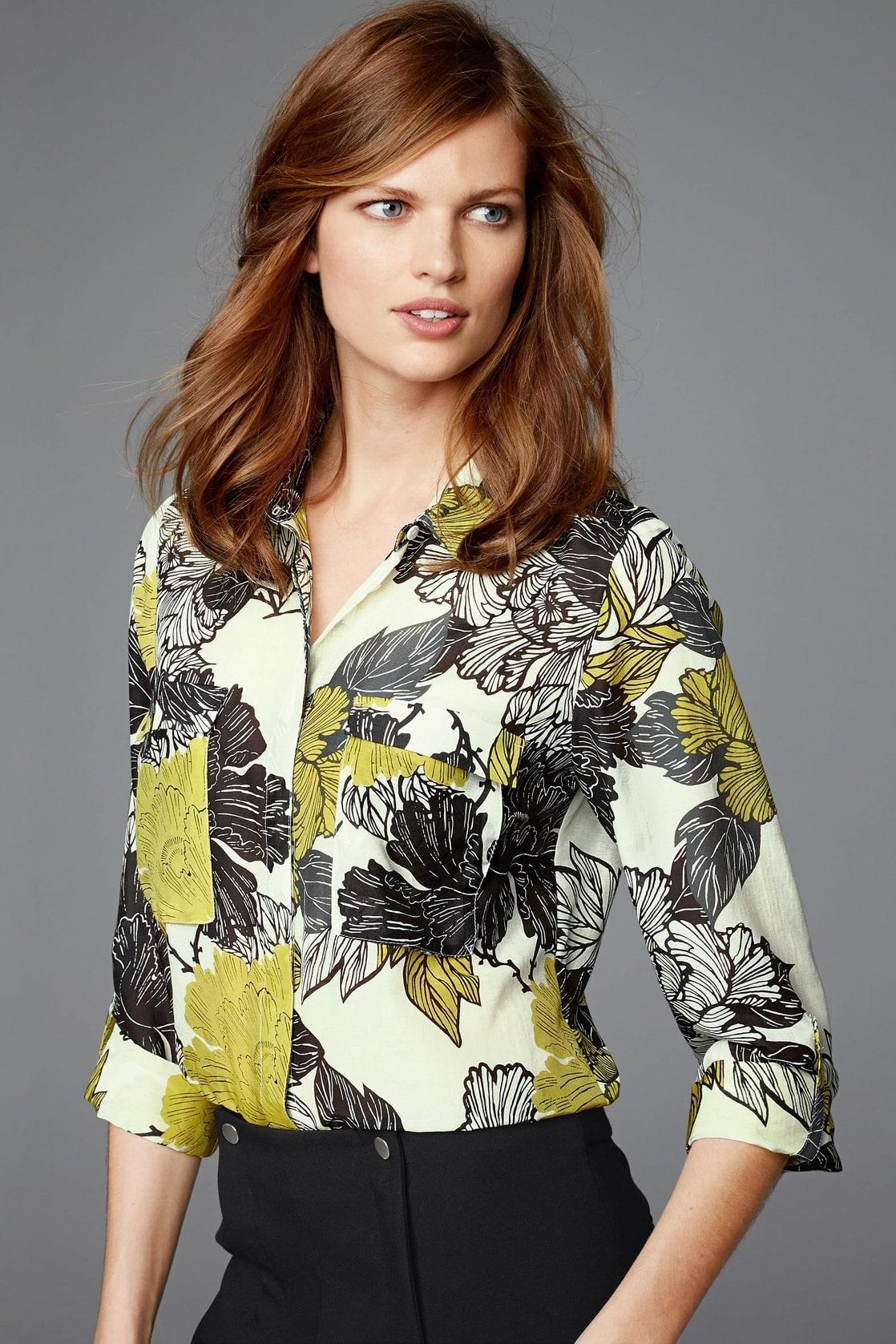 Цветастая Блузка С Доставкой