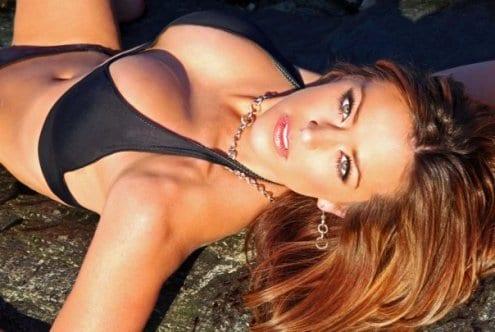 Big carrie milbank bikini banks