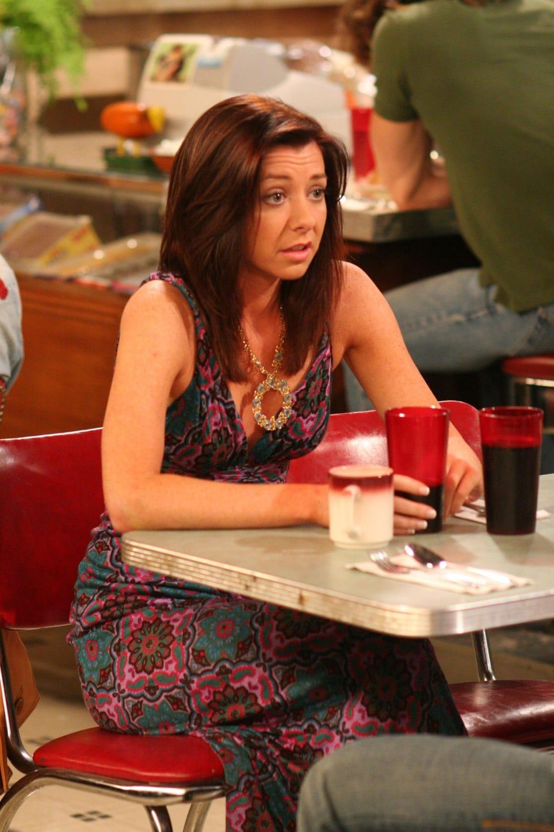 Лили в 4 сезоне как я встретил вашу маму беременна 367