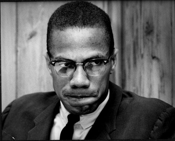 "malcolm x the ballot or ""the ballot or the bullet,"" speech, april 3 1964, cleveland, ohio (published in malcolm x speaks, ch 3, 1965) ""if violence is wrong in america, violence is wrong abroad if it is wrong to be violent defending black women and black children and black babies and black men, then it is wrong for america to draft us, and make us violent abroad in defense."