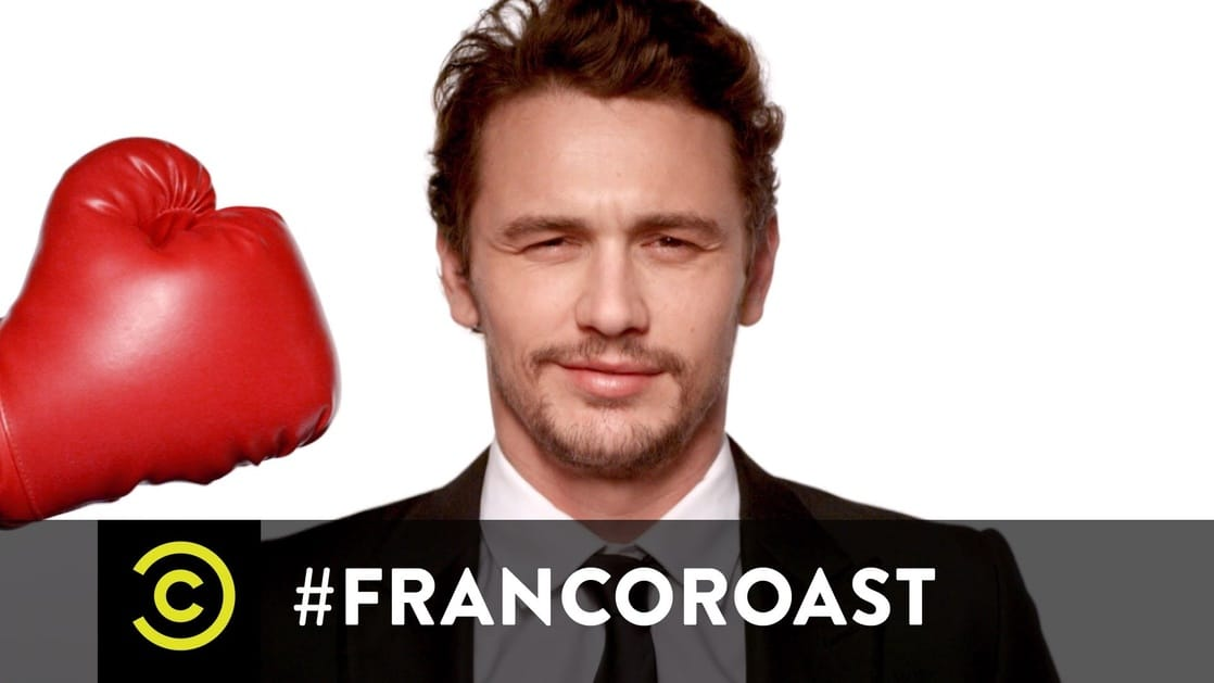 franco roast comedy central