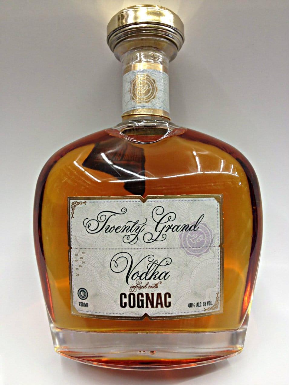 Twenty Grand Vodka Infused Cognac 80 Proof: Marketview Liquor