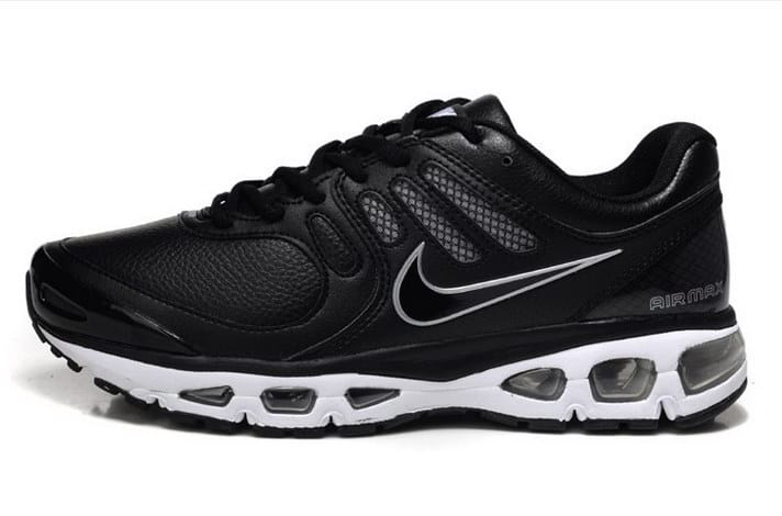... Nike Air Max 2010 Mens Running Shoe Black White Pink Gray ...