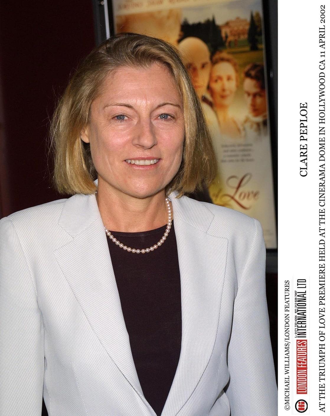 Picture of Clare Peploe