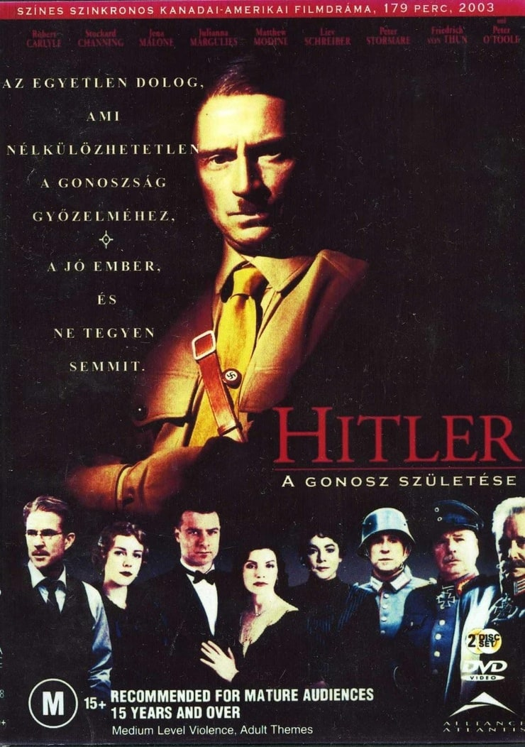 Hitler: The Rise of Evil (2003) - Rotten Tomatoes