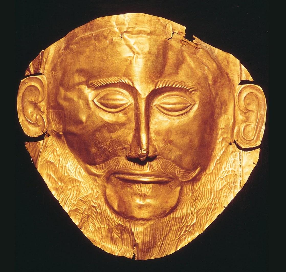 Золотая маска агамемнона и история греция-онлайн.