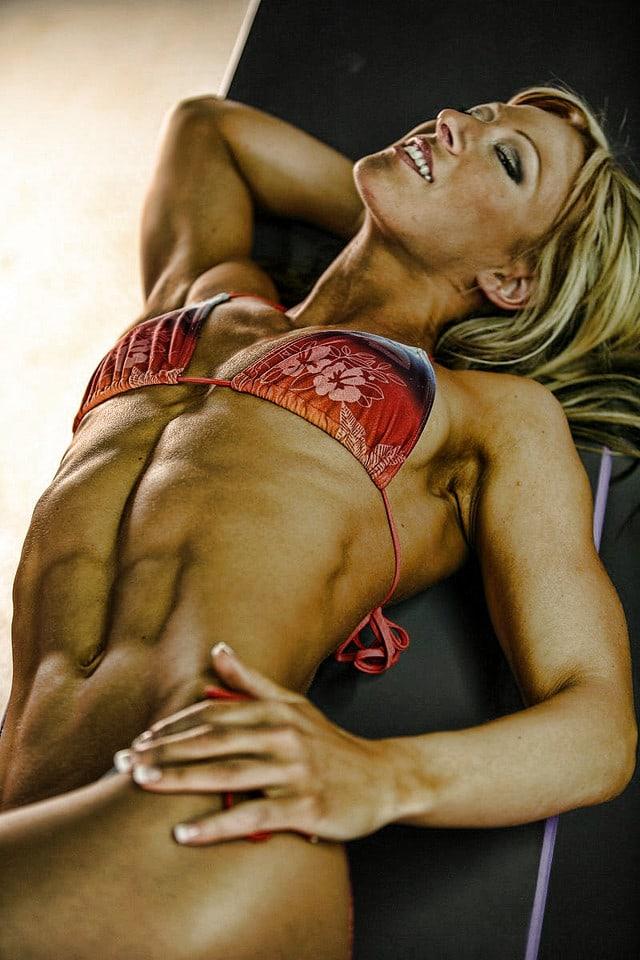 spieren vrouw