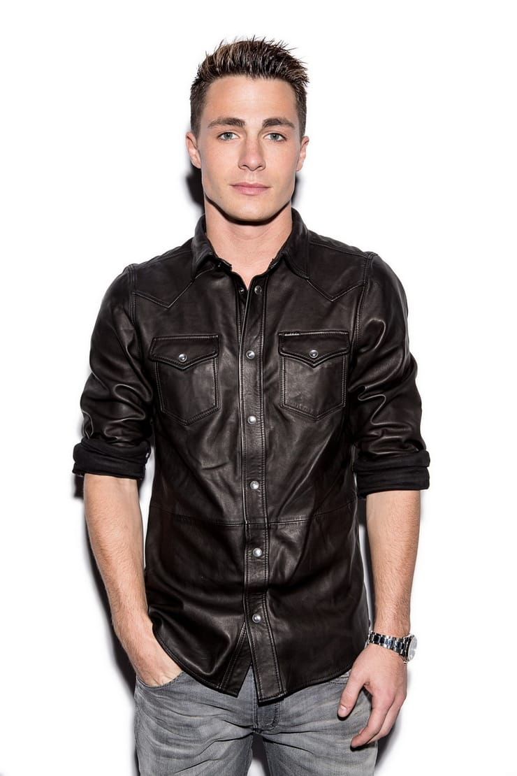 Leather Shirt Design