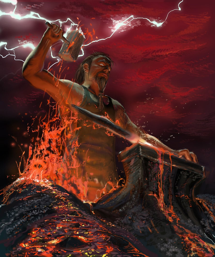 75+ Greek God Pictures Of Hephaestus - cool wallpaper