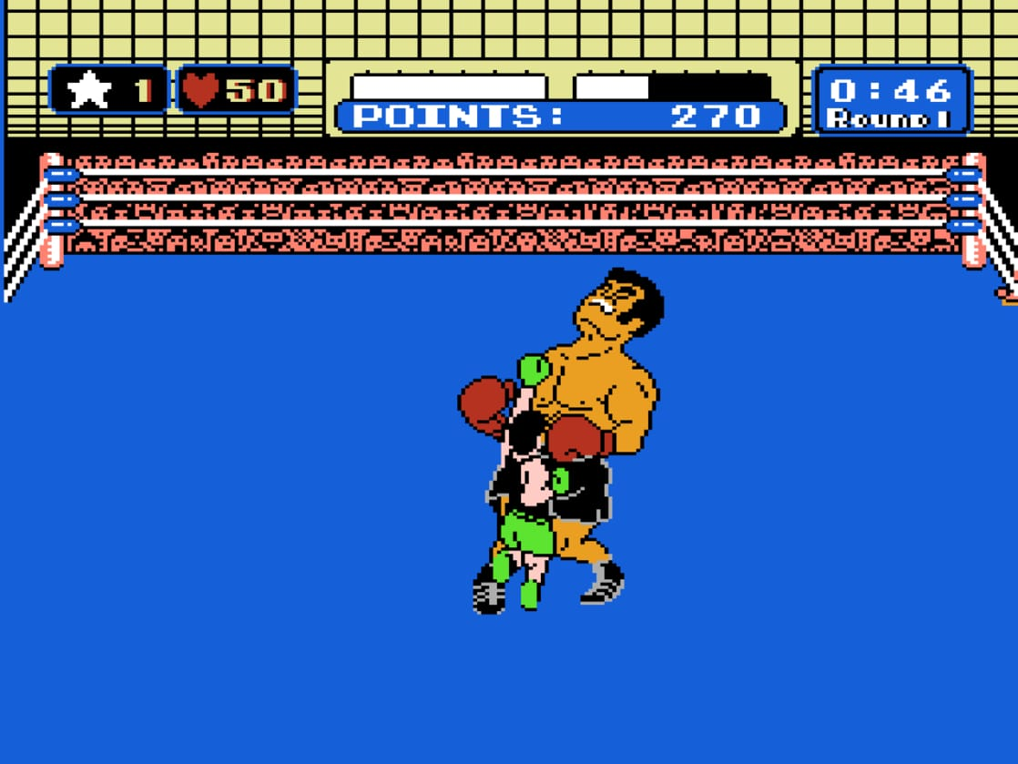 Picture of mike tyson 39 s punch out for What is a punch out list
