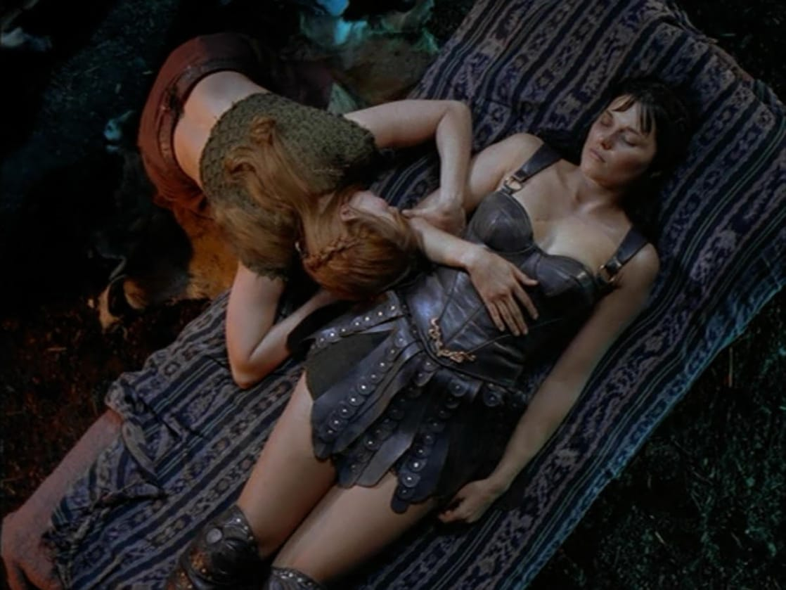 Xena and herculesxxx sexy movie