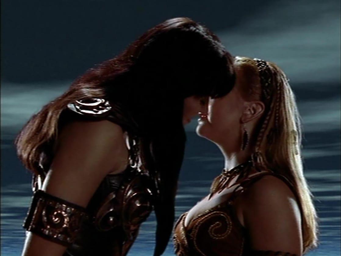 Xena warrior lesbian fucks clip