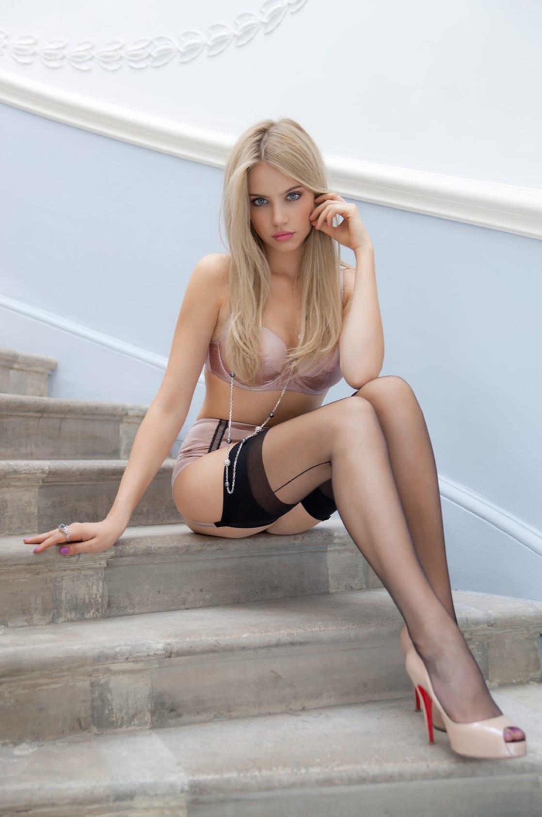 Consider, that Xenia tchoumitcheva lingerie