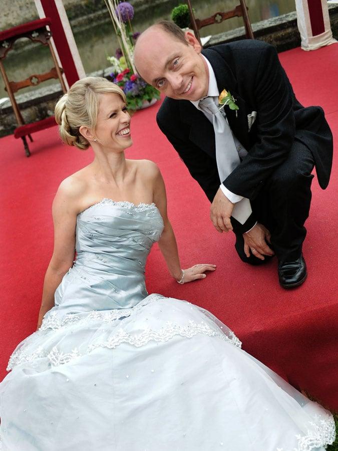 Bernhard Hoecker Ehefrau