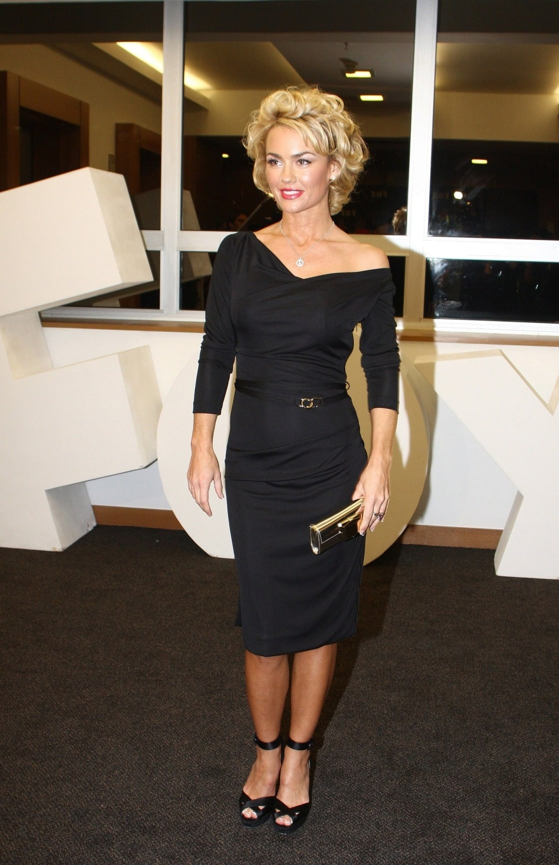 Kelly carlson legs remarkable, very