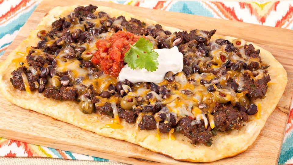 Tex-Mex Pizza