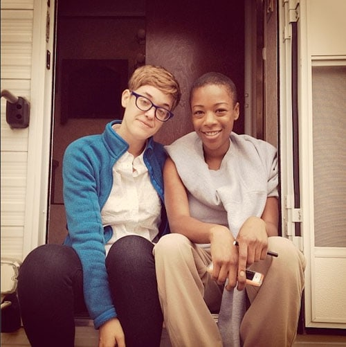 officer bennett and poussey dating in real life