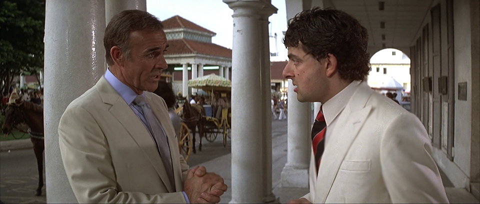 Sean Connery And Rowan Atkinson