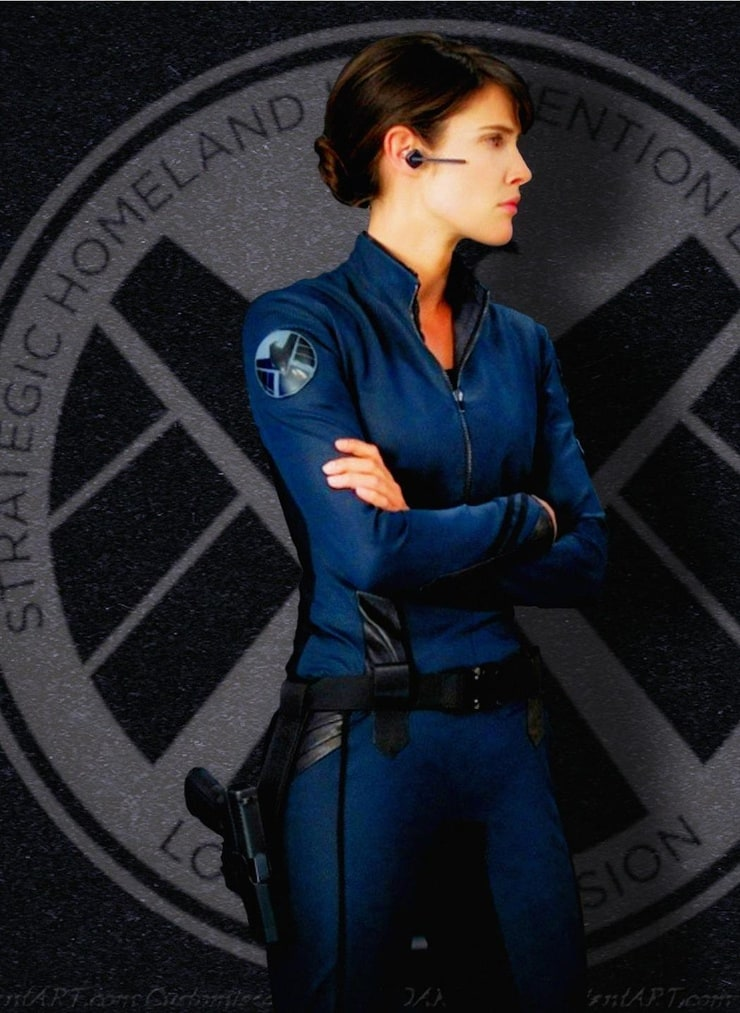 maria hill shield director marvunappcom - 740×1013