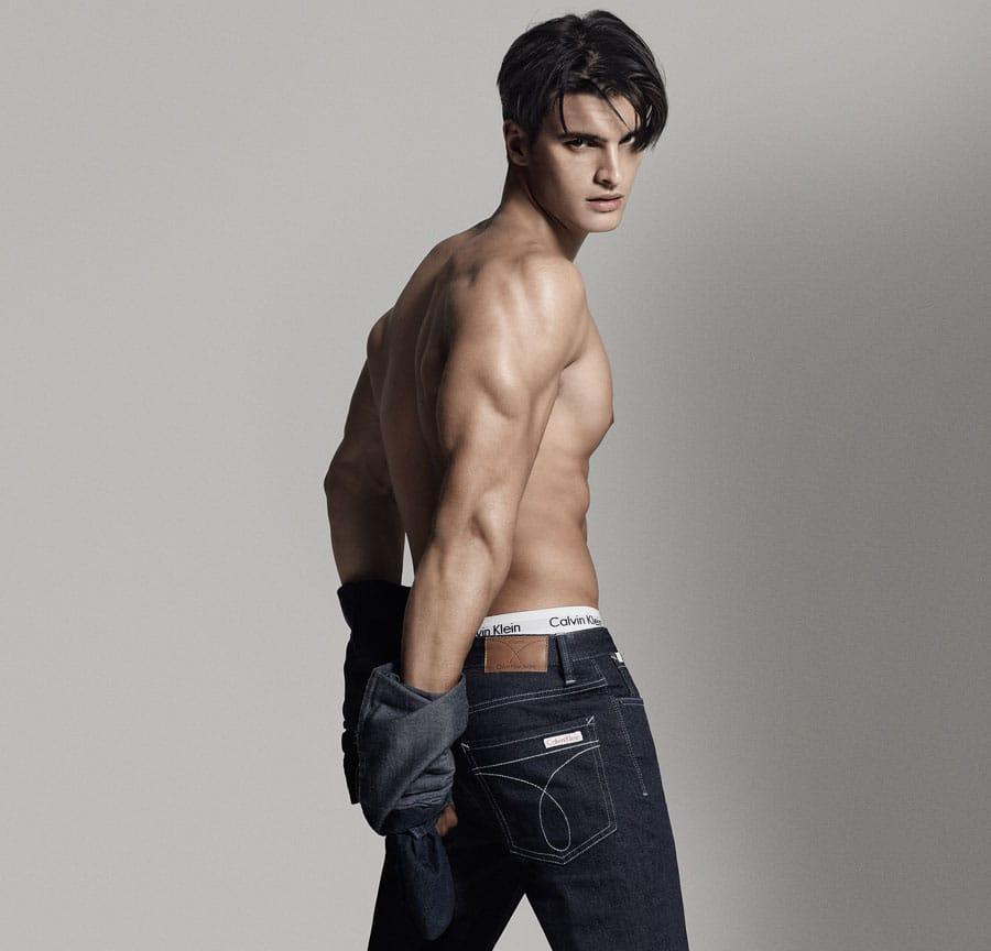 Matthew Terry Gets Denim Clad for Calvin Klein Jeans Ad