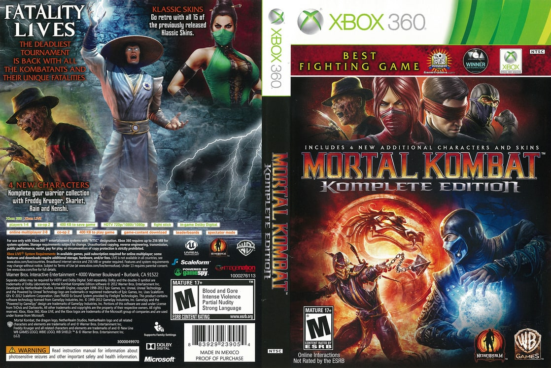Picture of Mortal Kombat: Komplete Edition - Xbox 360