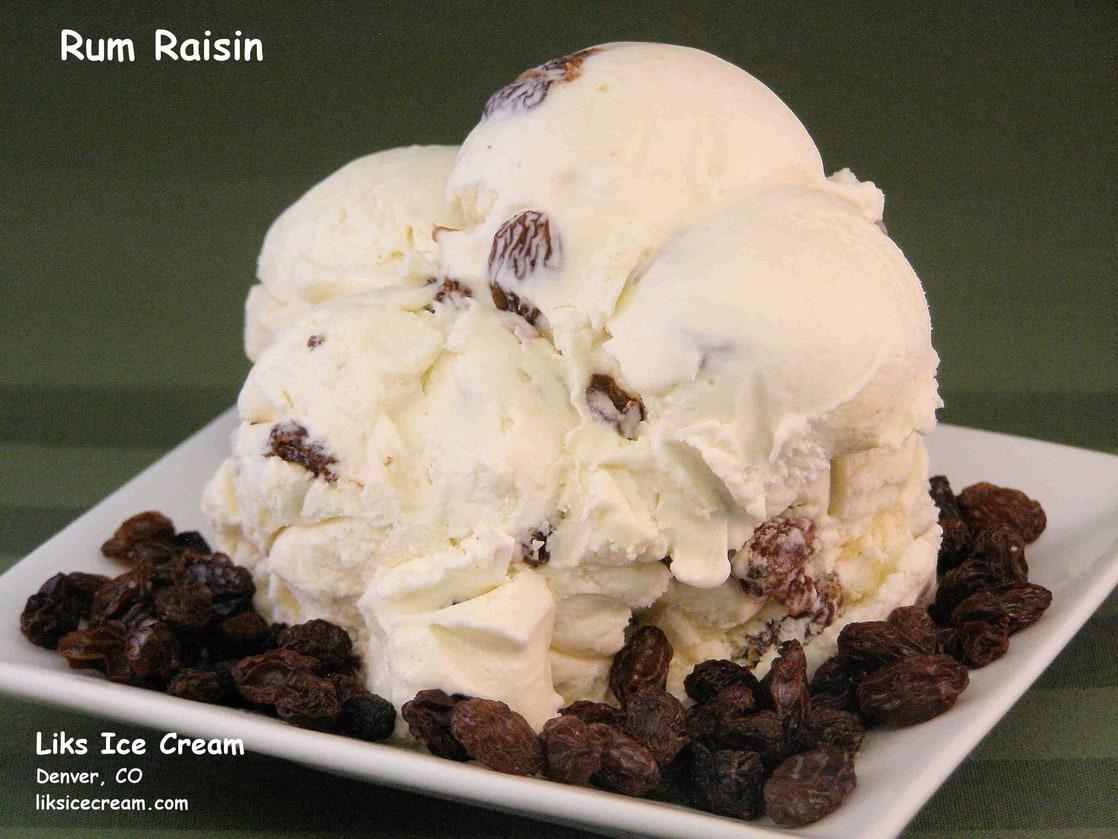 Picture of Rum and Raisin Ice Cream