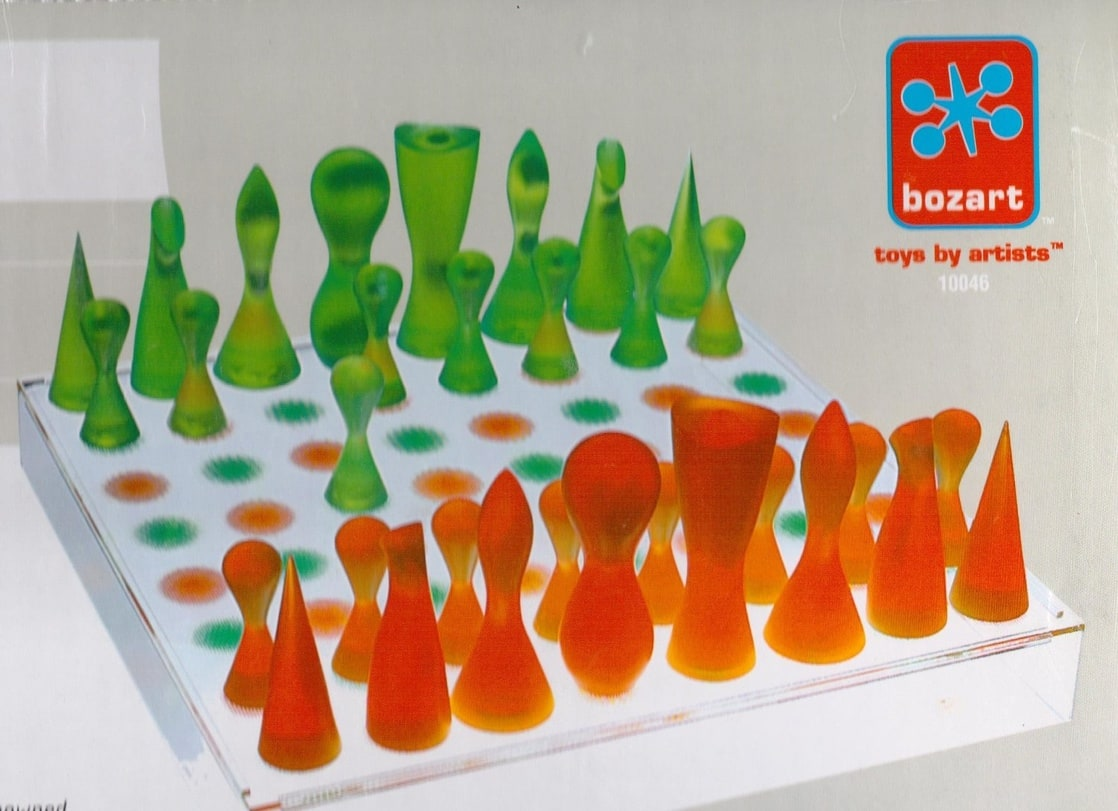 Picture of karim rashid chess set - Karim rashid chess set ...