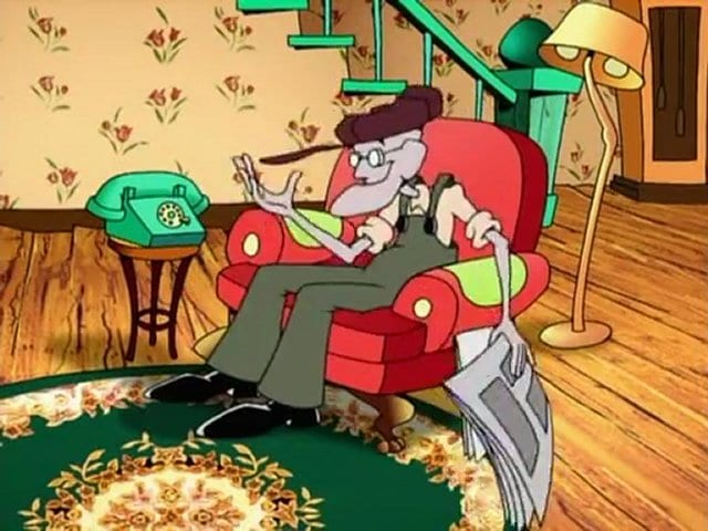 Where S My Chair On Courage The Cowardly Dog