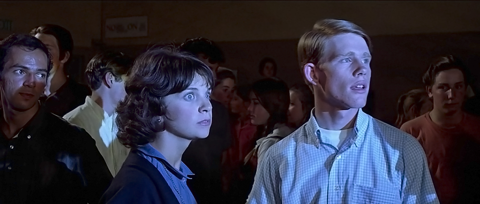 Image result for cindy williams and ron howard in american graffiti