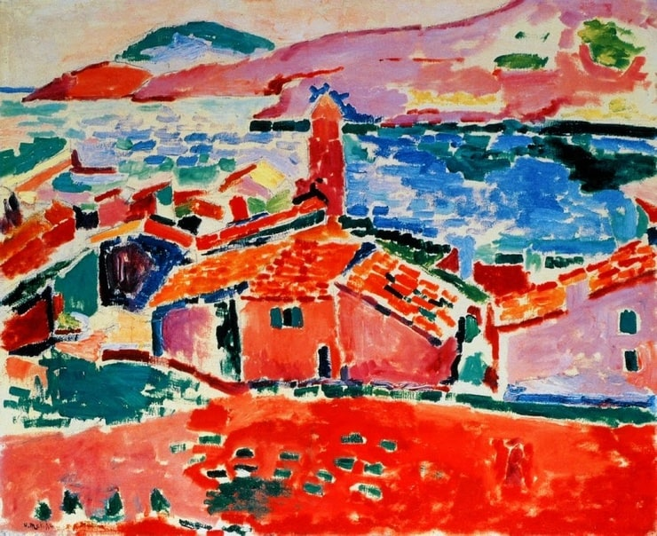 Matisse roofs of collioure for Matisse fenetre ouverte collioure