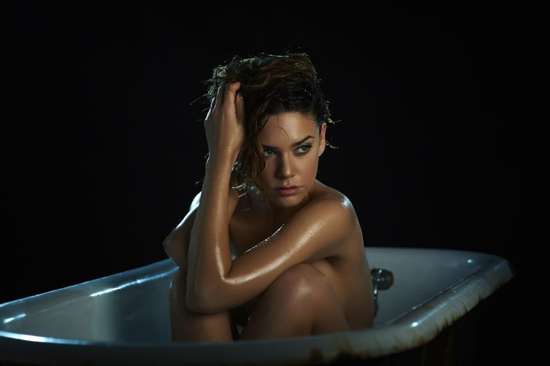 Casually Angelica celaya hot naked