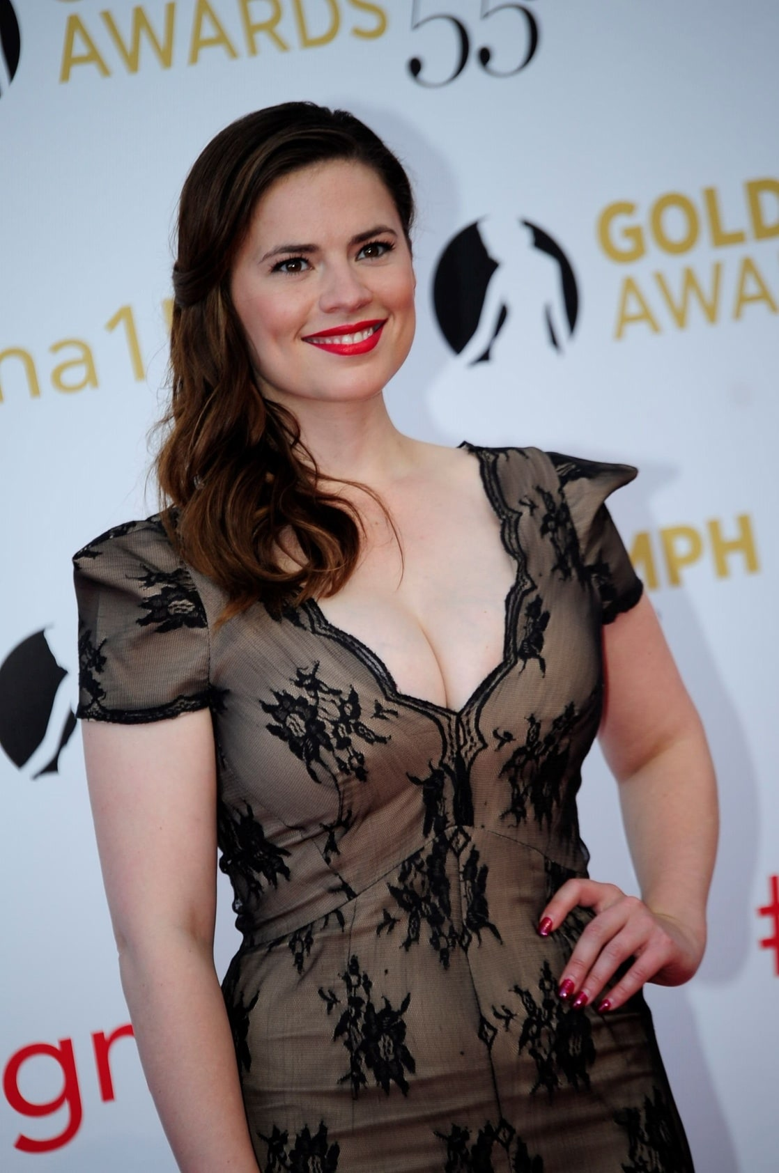 hayley atwell make up