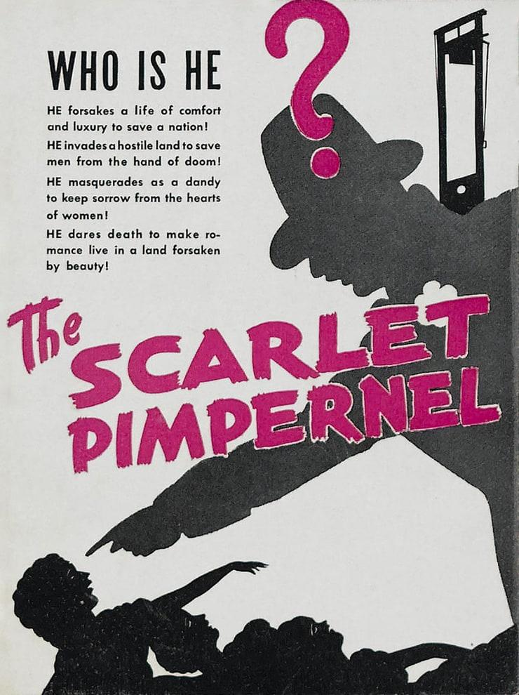 the scarlet pimpernel essay