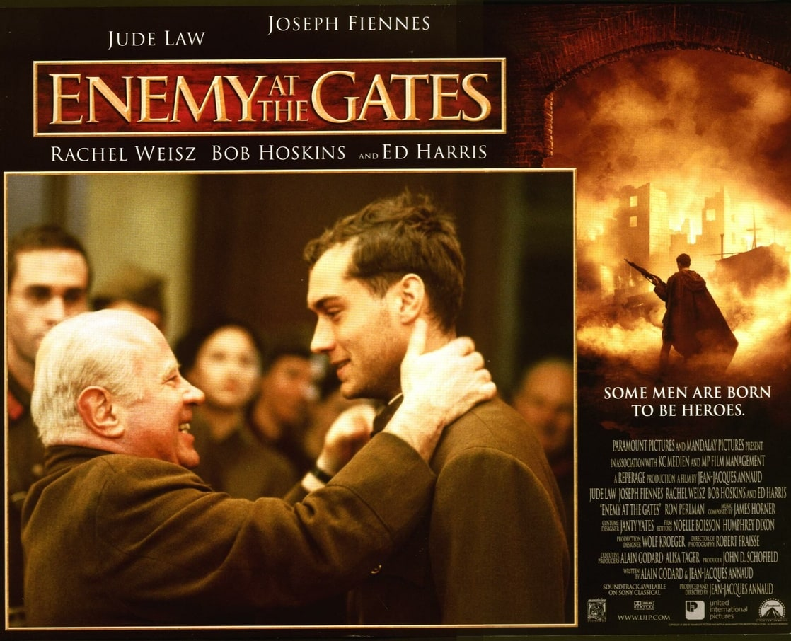 enemy at the gate book review Enemy at the gates (2001) official trailer #1 - jude law movie hd a russian sniper and a german sniper play a game.