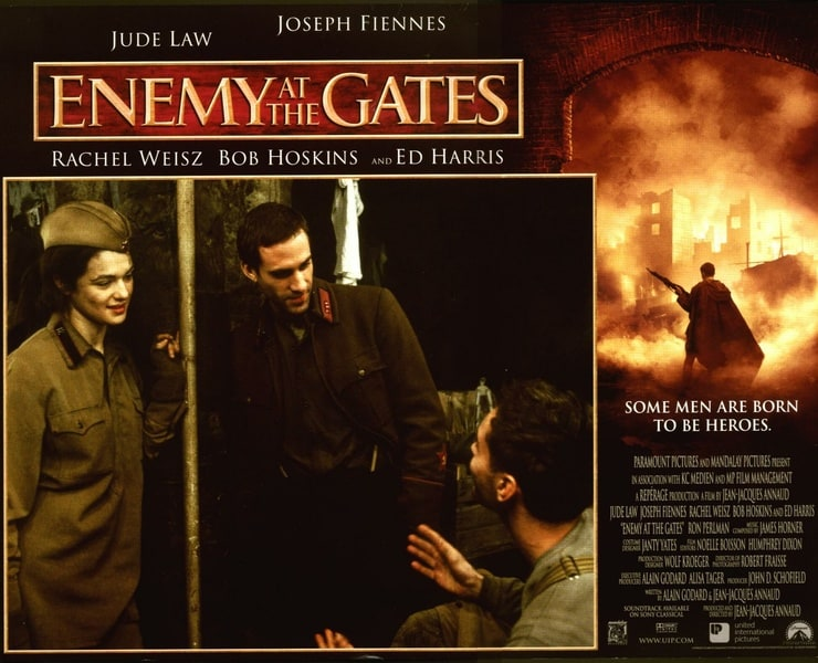 enemy at the gates essay Enemy at the gates essay - enemy at the gates, a film with intense violence and man's inhumanity to man, tells the story of the triumph of love and friendship set amidst the brutality of world war ii stalingrad.