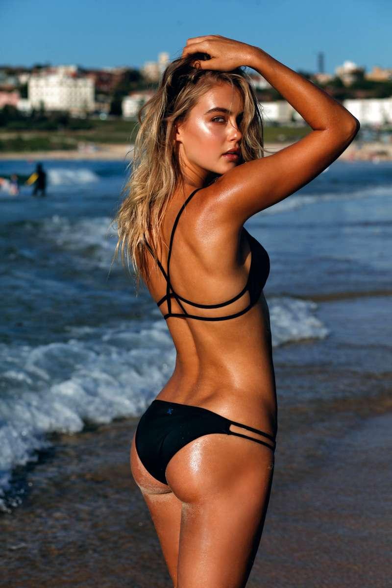 Rachel mccord for swimsuit photoshoot in malibu images