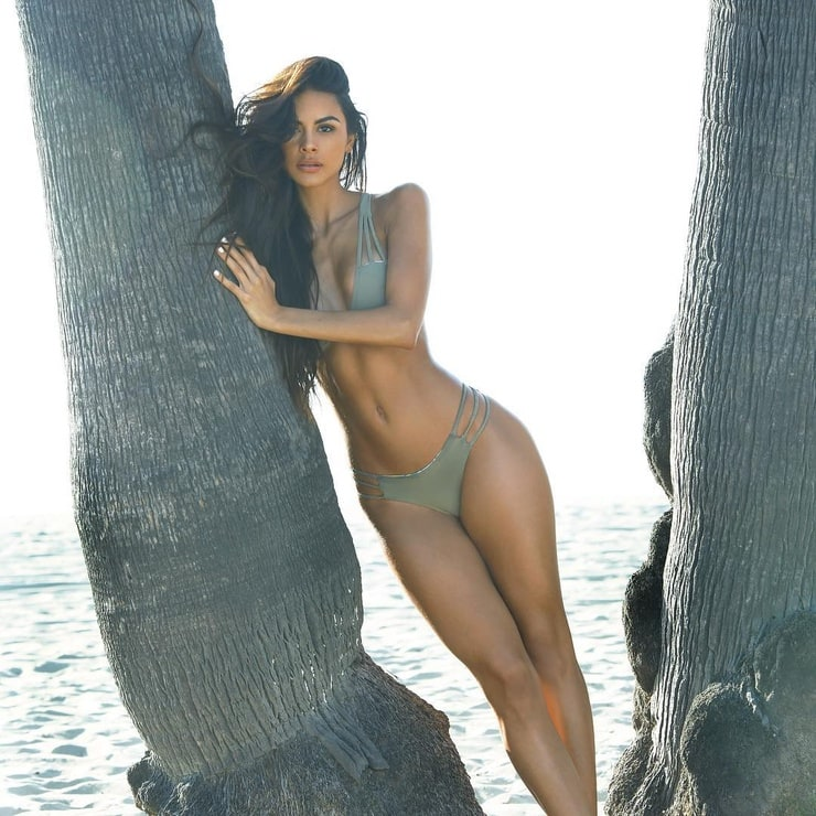 image Fit elena shows off her gymnast naked body