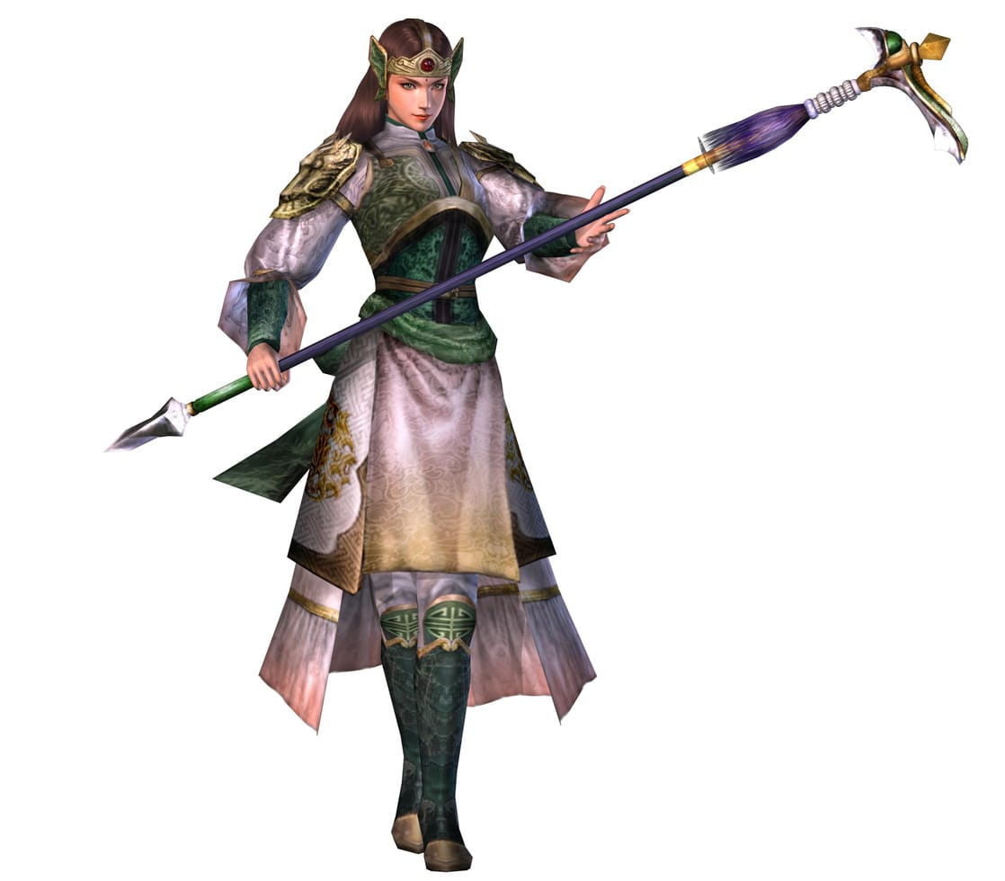 Warriors Orochi 3 Ultimate Delete Save Data: Picture Of Yue Ying