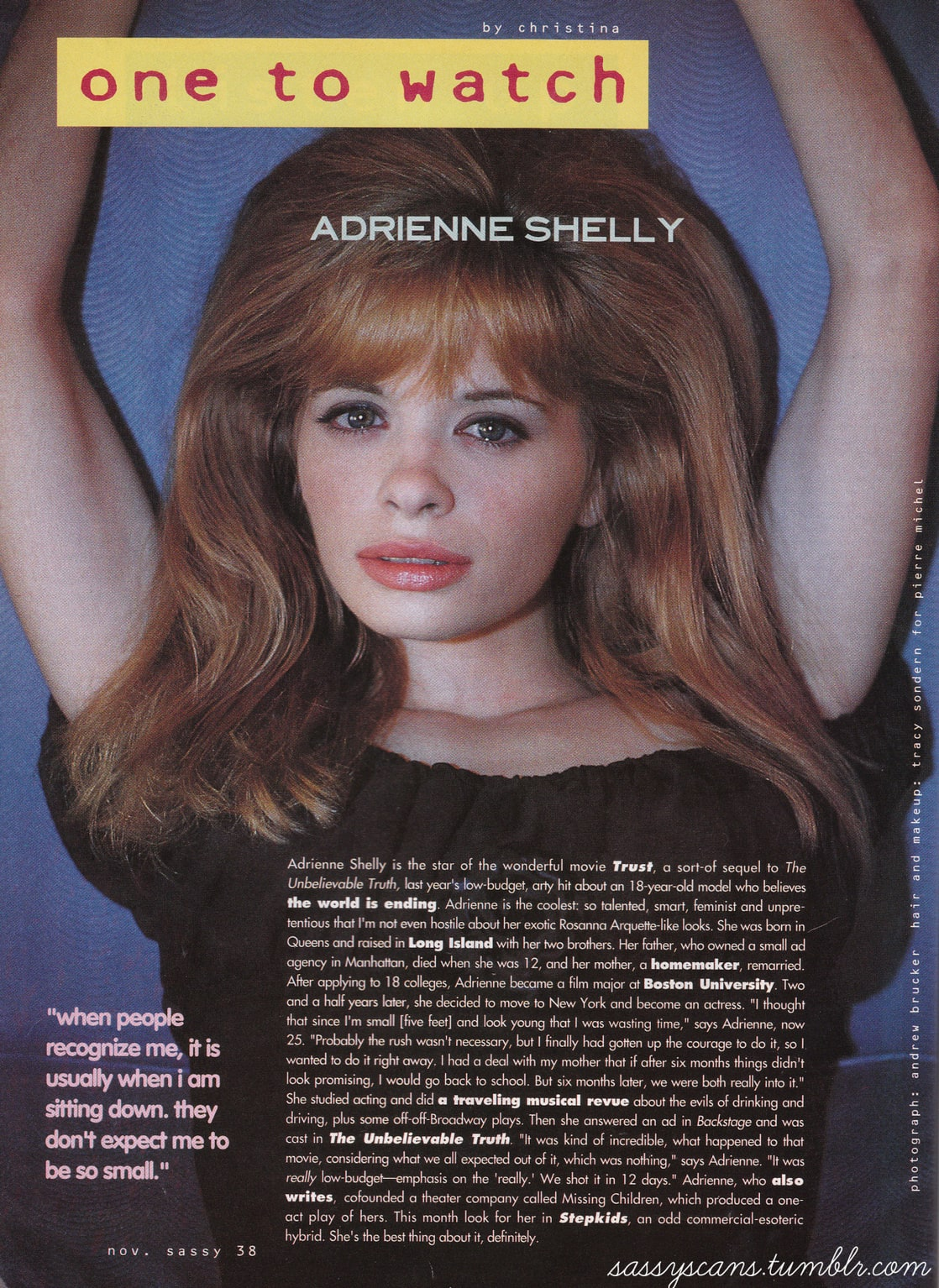 Adrienne Shelly Adrienne Shelly new picture